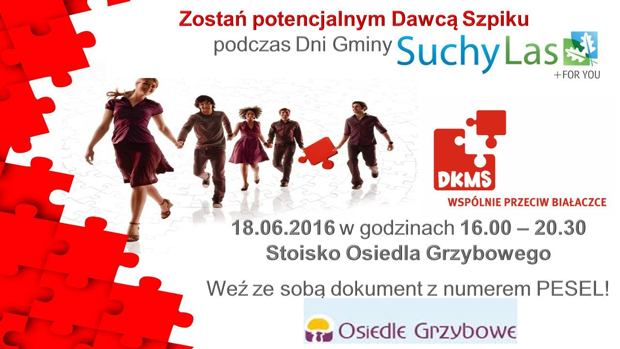 Dni gminy Plakat Suchy Las (1)
